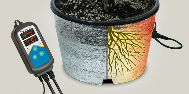 ThermoSoft soil and pot heaters create faster growing, healthier plants for personal or industrial operations. Learn more and Shop Soil and Pot Heaters.