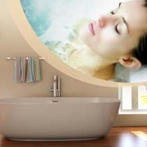 About us. ThermoSoft heating technology is used in bath applications, such as bathtub heaters and mirror defoggers.