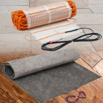 ThermoSoft heating technology is most widely used in floor heating applications, such as tile, laminate, and wood. About ThermoSoft.