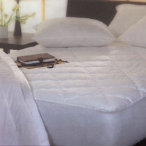 ThermoSoft heating technology is used in bedding products, such as mattress pads. About ThermoSoft.