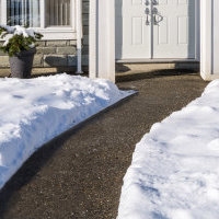 About us. ThermoSoft heating technology is used in outdoor applications, such as snow and ice melting for driveways and walkways.