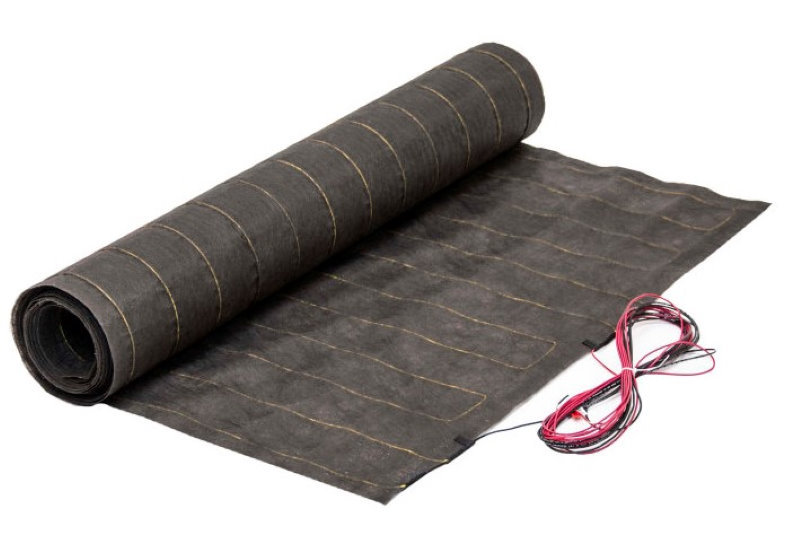 WarmStep mats are thin, safe, and won't raise your floors. Installing heated laminate floors couldn't be easier with WarmStep by ThermoSoft.